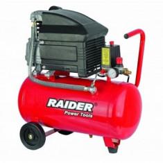 Compresor de aer 8 bar, 1500 W, 24 L Raider RD-AC01 - Compresor electric Raider Power Tools