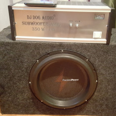 Subwoofer Precision Power PH12 - 800W RMS - Subwoofer auto Pioneer, peste 200W