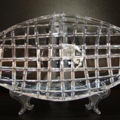 FRUCTIERA / BOMBONIERA DIN CRISTAL - Fructiera sticla