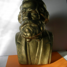 STATUIETA BUST MARX - Sculptura, Ipsos
