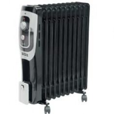 Radiator cu ulei FKO 11/BK, 3 trepte de încălzire, 2500 W