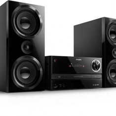 Microsistem muzical Philips BTM3360/12, 150 W, Bluetooth, digital sound control, MP3-CD