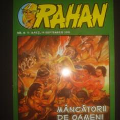 REVISTA RAHAN - MANCATORII DE OAMENI {nr. 16, 14 septembrie 2010} - Carte personalizata