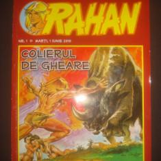 REVISTA RAHAN - COLIERUL DE GHEARE {nr. 1, 1 iunie 2010} - Carte personalizata