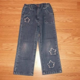 Pantaloni de blugi pentru fete de 3-4 ani de la impidimpi, Marime: Masura unica, Culoare: Din imagine