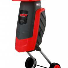 Tocator pentru crengi electric HECHT 6224, 2400 W - Aspirator/Tocator frunze