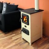 Soba pentru incalzit pe lemne MBS HERA, 7 kW