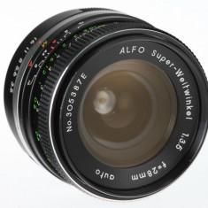 M42 28mm F3.5 sn 305387pentru Canon Fuji Sony Olympus Panasonic - Obiectiv DSLR Olympus, Wide (grandangular), Manual focus