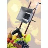 Zdrobitor manual de struguri cu accesorii pentru fructe(2 in 1), aprox. 200 kg/h