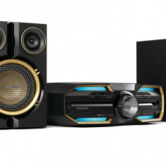 Minisistem Hi-Fi Philips FX25/12, Bluetooth şi NFC, 300 W, Dynamic Bass Boost - Minisistem audio