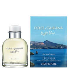 Dolce&Gabbana Light Blue Discover Vulcano EDT 40 ml pentru barbati - Parfum barbati Dolce & Gabbana, Apa de toaleta