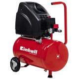 Compresor aer fara ulei Einhell TH-AC 200/24, 1100 W, 140L/min, 24 L - Compresor electric