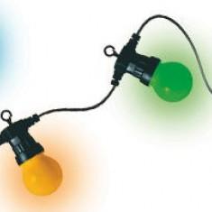 Decoratiune cu LED-uri, decor tip glob, multicolor, LPL 30, 30 buc, 230V - Instalatie electrica Craciun