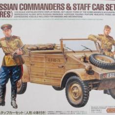+ Macheta 1/35 Tamiya 25153 - Kubelwagen cu soldati rusi +