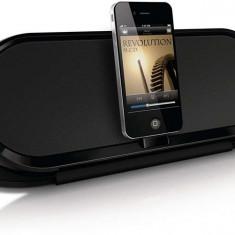 Boxa cu andocare pentru iPod/iPhone Philips DS7600/10, Alimentată cu baterie/CA, 10W