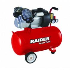 Compresor de aer 8 bar, 2200 W, 100 L Raider RD-AC03 - Compresor electric Raider Power Tools
