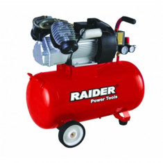 Compresor de aer 8 bar, 2200 W, 100 L Raider RD-AC03 - Compresor electric Raider Power Tools