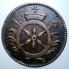 E.055 GERMANIA MAINZ 4 PFENNIGE CMLM 1766 - Moneda Medievala, Europa