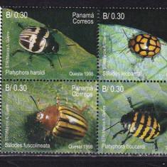 Panama 1998 fauna gandaci MI 1824-1827 MNH w40 - Timbre straine, Nestampilat