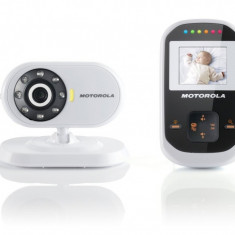 Baby monitor interfon video cu infrarosu, ecran color 1.8