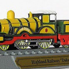 Macheta locomotiva Highland Railway Duke Class - UK 1874 scara 1:160 - Macheta Feroviara, N, Locomotive