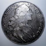 G.241 GERMANIA BAVARIA MAXIMILIAN III JOSEF 1 THALER TALER 1767 ARGINT 27,9g, Europa