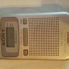 Radio sony srf-m806 SRF-M806 - Aparat radio Sony, Digital
