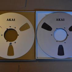 Set banda magnetofon AKAI 26cm metal, Nab-raritati-