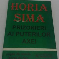 PRIZONIERI AI PUTERILOR AXEI/ HORIA SIMA/1995 - Istorie