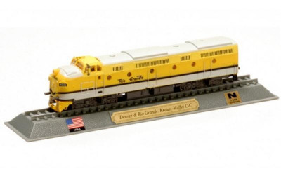Macheta locomotiva Denver & Rio Grande Krauss Maffei C-C - USA scara 1:160 foto