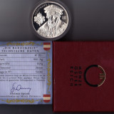 20 EURO 2002 UNC argint 18 gr.900/1000 certificat+cutie Austria Ferdinand I., Europa