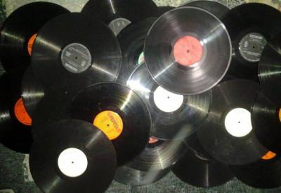 "Vinil/vinyl uri mari,12"" pentru ornament, decor ,1 leu bucata foto"