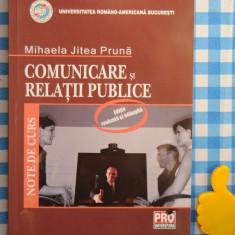 Comunicare si relatii publice Mihaela Jitea Pruna - Carte de publicitate