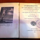 Carte veche lb maghiara: A Fajdalmak Utja 1911