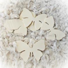 Fluturi carton pentru nunta/ botez