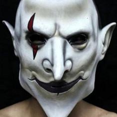 Masca Joker, latex, noua!, Marime universala, Crem