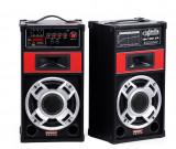 Boxe Karoke casa de 100 W boxe Active de interior exterior cu Bluetooth, Boxe exterior, 81-120W