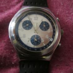 Ceas swatch nu are baterie de aceea il vand ca defect c4 - Ceas unisex, Cauciuc