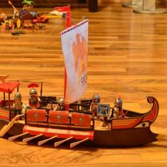 Corabia romanilor, Legiunea romana, Turn de lupta roman si Car roman Playmobil
