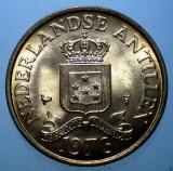 7.730 ANTILELE OLANDEZE 2 1/2 CENTS 1976 XF/AUNC, America Centrala si de Sud, Bronz