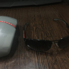 Ochelari de soare originali Prada SPS 53N cu lentile polarizate - Ochelari de soare Prada