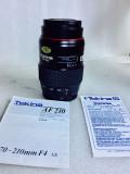 Vand obiectiv pe montura SONY/MINOLTA 70/210mm MACRO, Macro (1:1), Minolta - Md