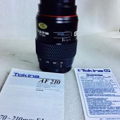 Vand obiectiv pe montura SONY/MINOLTA 70/210mm MACRO - Obiectiv DSLR Sony, Macro (1:1), Minolta - Md