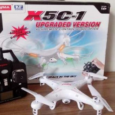Drona Syma X5C-1 Quadcopter Camera Video Photo 720P HD 2MP+card 4GB