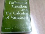 DIFFERENTIAL EQUATIONS AND THE CALCULUS OF VARIATIONS -L. ELSGOLTS