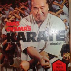 Mas Oyama's - Karate / alapjai (carte in lb.maghiara, cu numeroase ilustratii - Carte sport