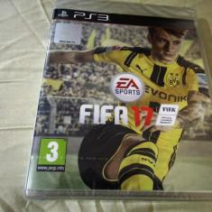 Joc Fifa 17, PS3, original si sigilat, alte sute de jocuri! - Jocuri PS3 Ea Sports, Sporturi, 3+, Multiplayer