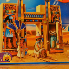 Playmobil Templul Faraonilor si Soldati egipteni
