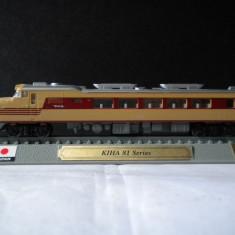 Macheta locomotiva KIHA 81 Series Japan scara 1:160 - Macheta Feroviara, N, Locomotive