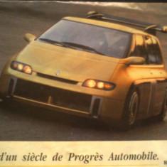 Catalog Renault - Pres d'un siecle de Progres Automobile - Revista auto